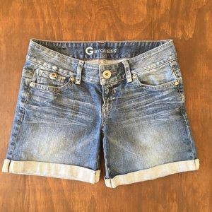Guess Cuffed Shorts